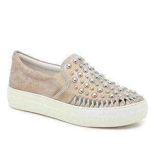 J Slide • Slip on Studded Sneaker • NWOB